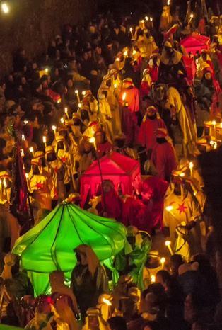 Cabalgata de Reyes Magos de Santillana del Mar