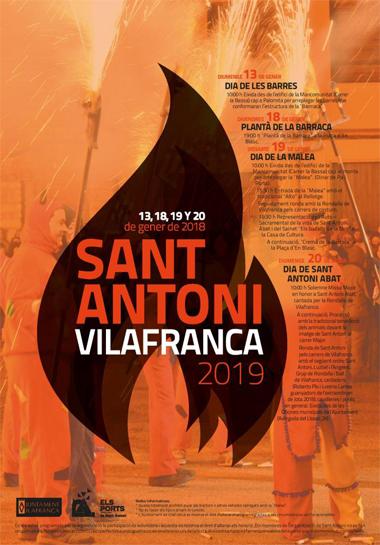 Fiesta Sant Antoni de Vilafranca