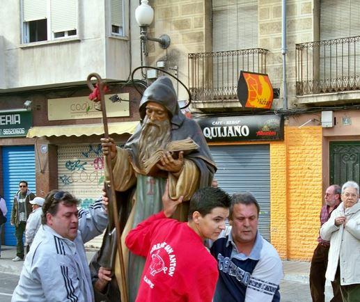 Porrate de San Antón Alicante