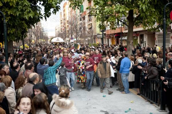 fiesta de Sant Antoni Canals