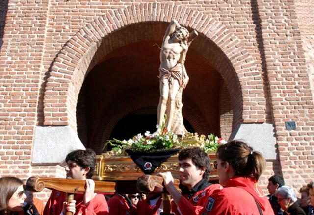 Fiesta San Sebastián Mártir en San Sebastián de los Reyes