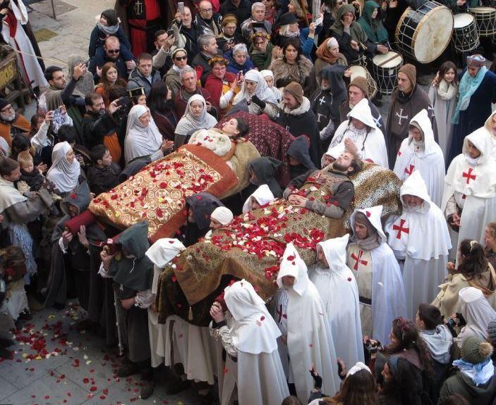 Fiesta Bodas de Isabel Segura en Teruel