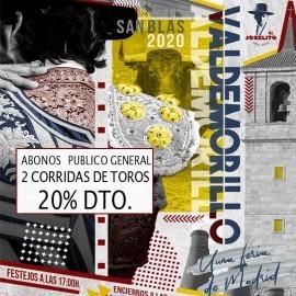 feria taurina de valdemorillo 2020