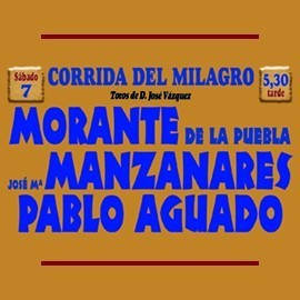 Feria Taurina del Milagro de Illescas 2020