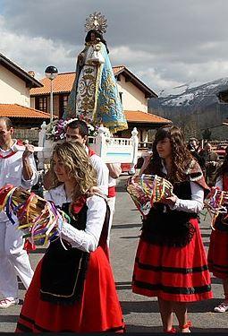 Fiestas Virgen de la Castañera en Vernejo