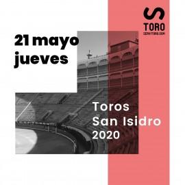 Feria Taurina San Isidro Madrid 2020