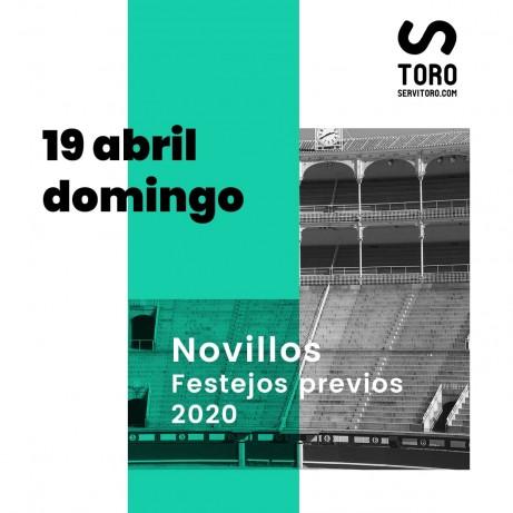 Novillada en Las Ventas Madrid 2020