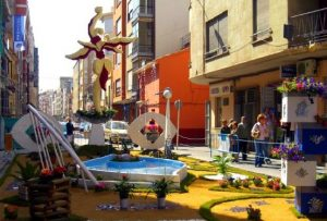 programa Cruces de Mayo de Burriana
