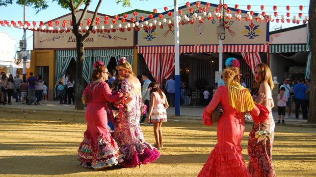 Feria dos hermanas 1 fiestas espa a - Polveros en dos hermanas ...