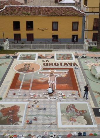 Fiesta Octava del Corpus y Romería de San Isidro La Orotava