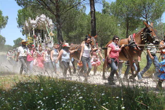 programa Romería del Rocío en Ayamonte
