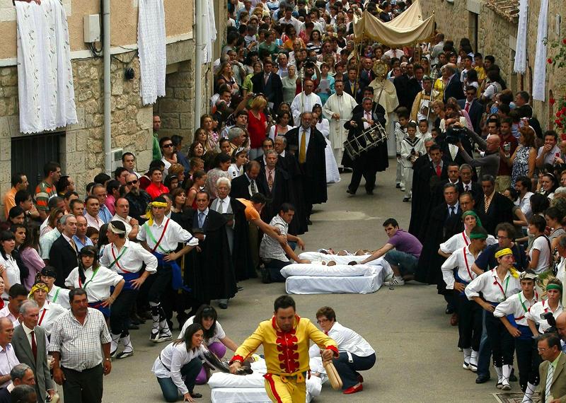 programa Fiesta del Colacho de Castrillo de Murcia