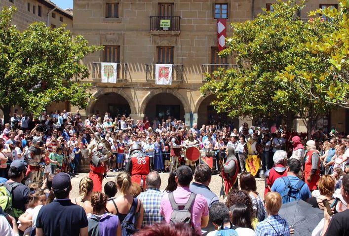 Fiesta Jornadas Medievales de Briones
