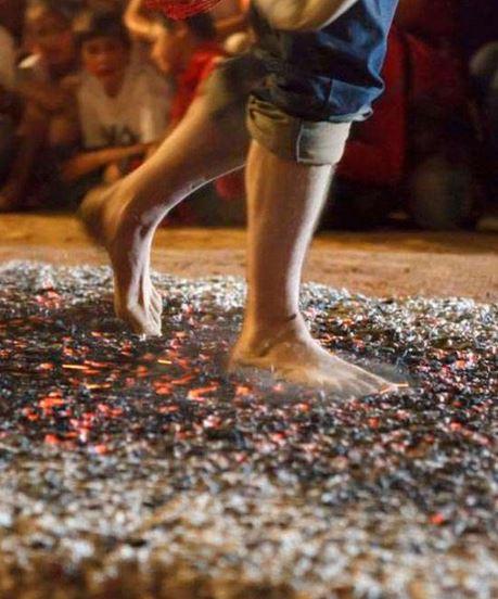 Fiesta Paso del Fuego y Las Móndidas de San Pedro Manrique