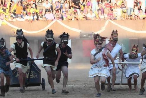 Fiesta de Astures y Romanos en Astorga