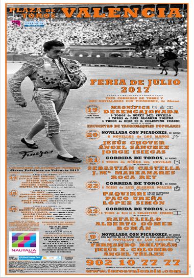 Feria Taurina de Julio Valencia