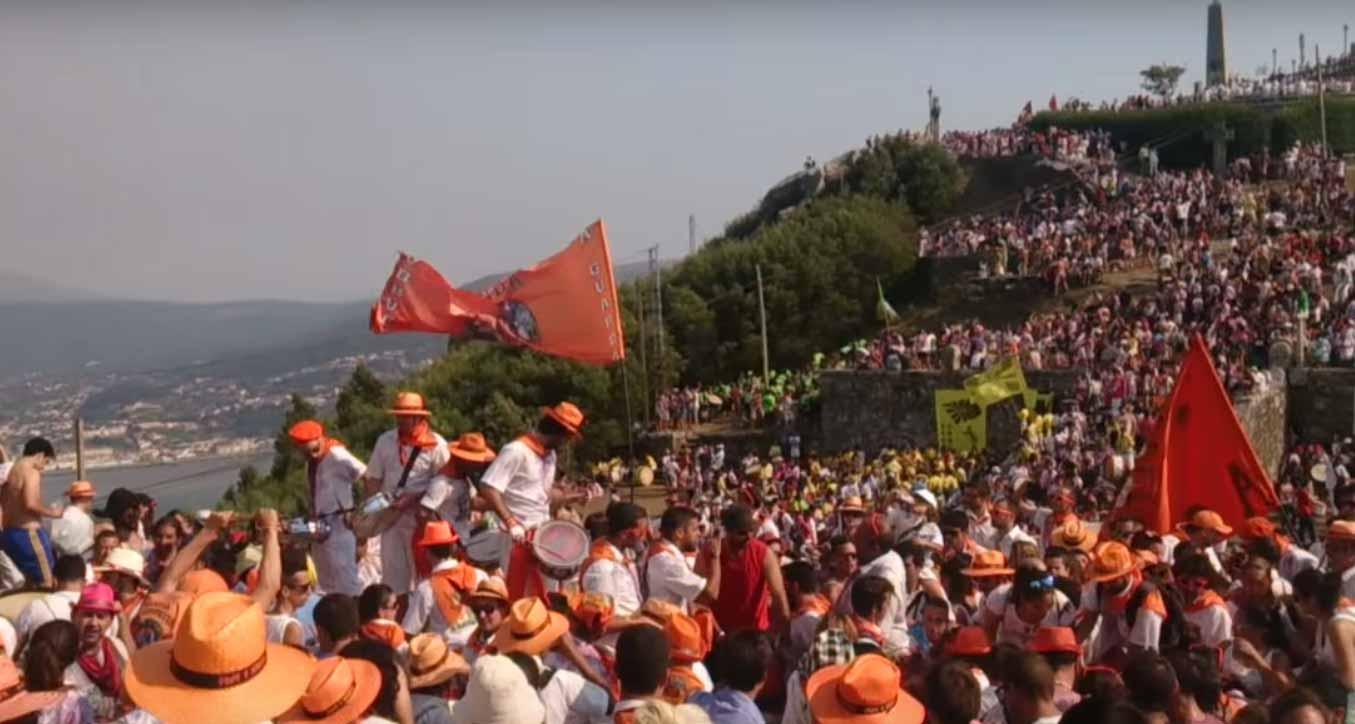 Fiestas Do Monte en A Guarda