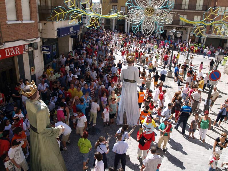 Fiesta Ntra. Señora y San Roque de Peñafiel