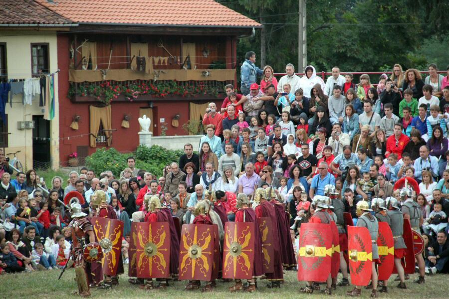 Fiestas Guerras Cántabras de Los Corrales de Buelna