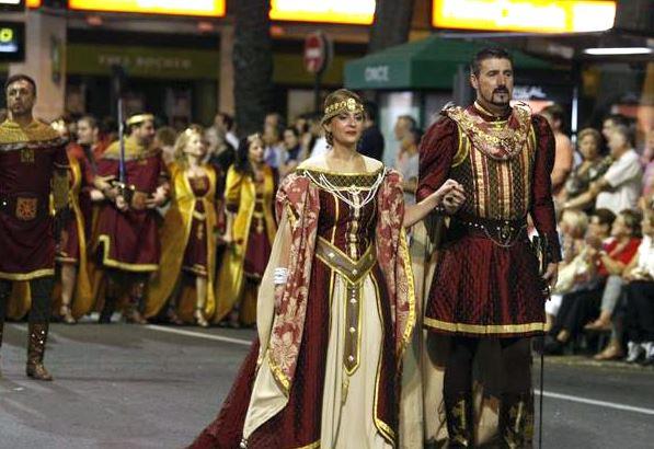 Moros y Cristianos de Murcia