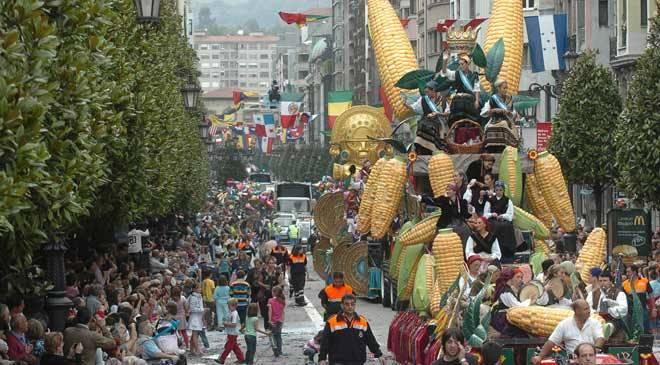 Fiesta del Día de América en Asturias de Oviedo