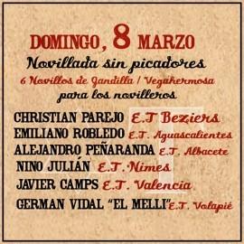Feria Taurina de Fallas Valencia 2020