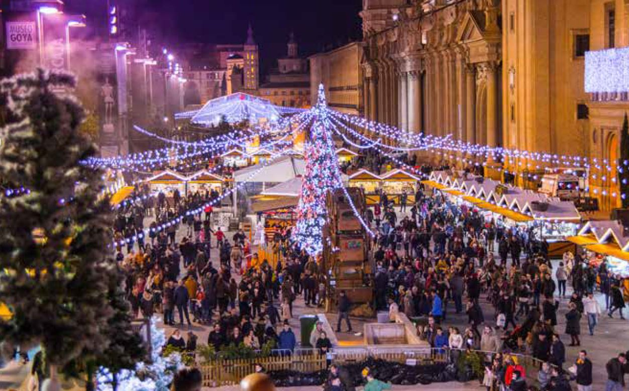 Fiesta Navidad en Zaragoza
