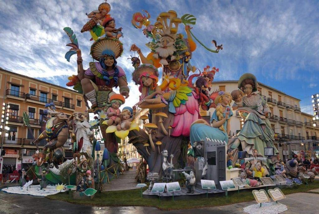 Fallas Burriana