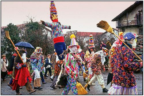 carnaval de Lantz 2017, carnavales de españa, fiestas españa