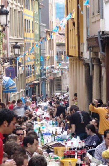 Fiesta del Bollo en Avilés