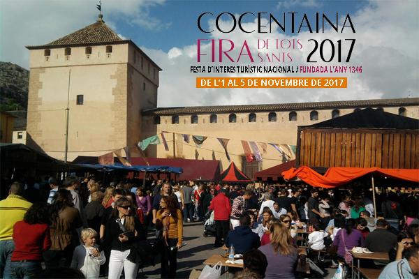 Más de 400.000 personas invaden Cocentaina en noviembre