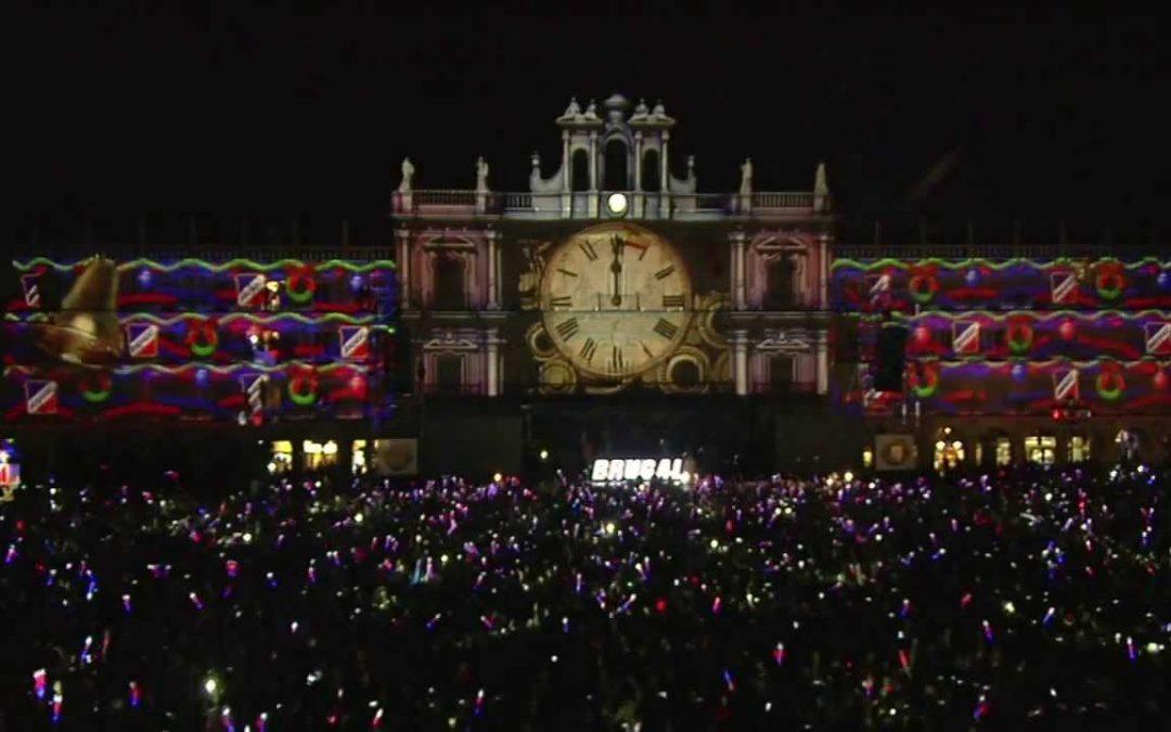 En SALAMANCA, el 14 de diciembre es Nochevieja