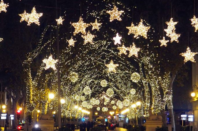Fiesta Navidad en Palma Mallorca