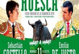 Feria Taurina de la Albahaca en Huesca