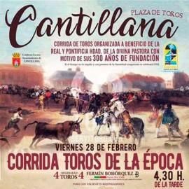 Corrida de Toros Mixta en Cantillana 2020