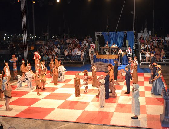 Fiesta Ajedrez Viviente de Jávea